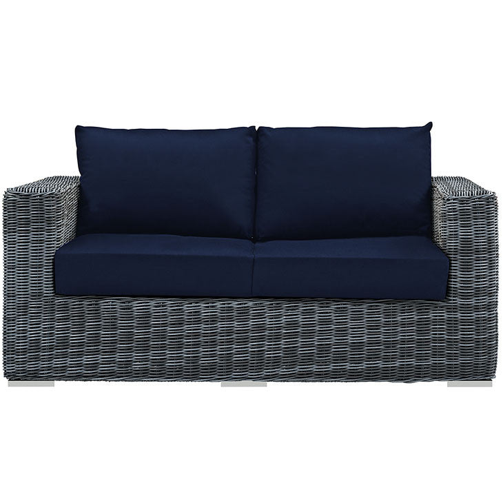 Summon Outdoor Patio Sunbrella® Loveseat