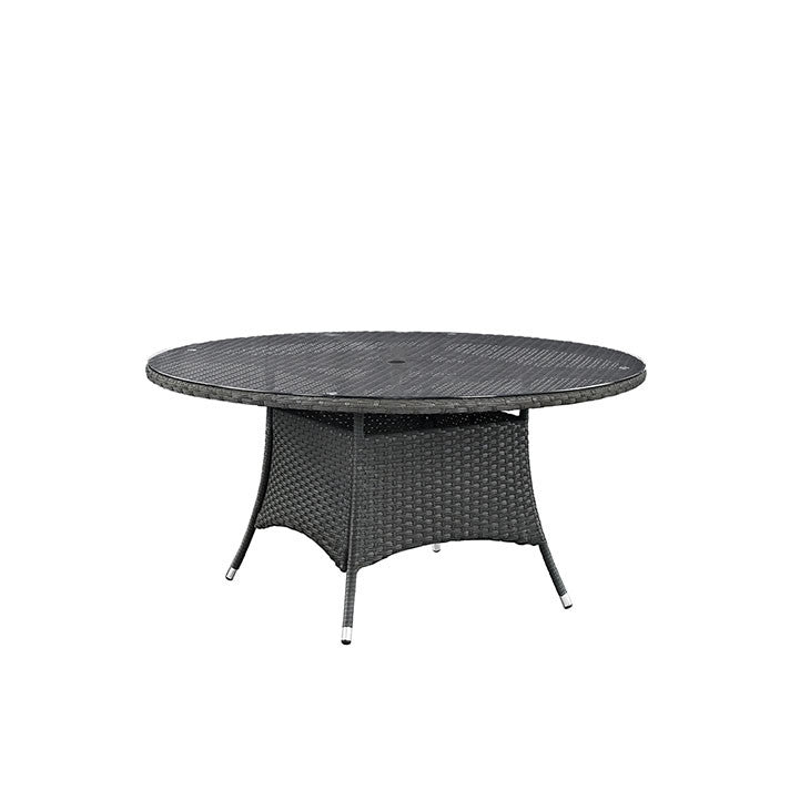 "Sojourn 59"" Round Outdoor Patio Dining Table"