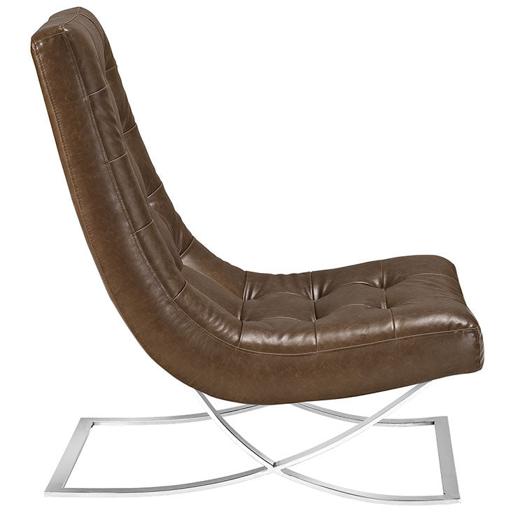 Slope Vinyl Lounge Chair
