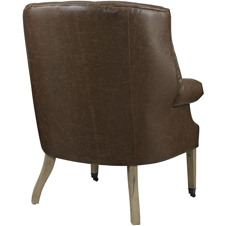 Chart Vinyl Lounge Chair