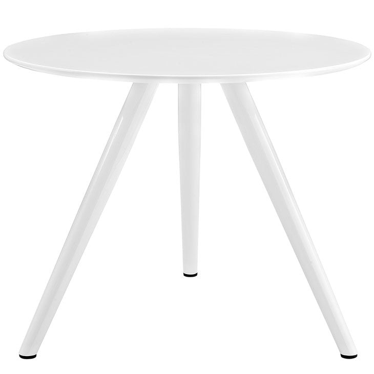 "Lippa 36"" Round Wood Top Dining Table with Tripod Base"