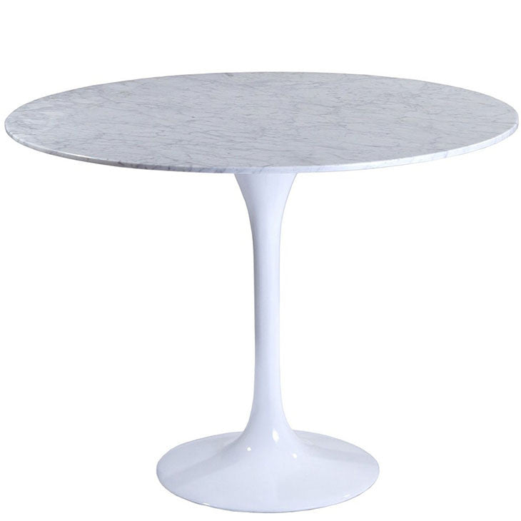 "Lippa 40"" Round Marble Dining Table"