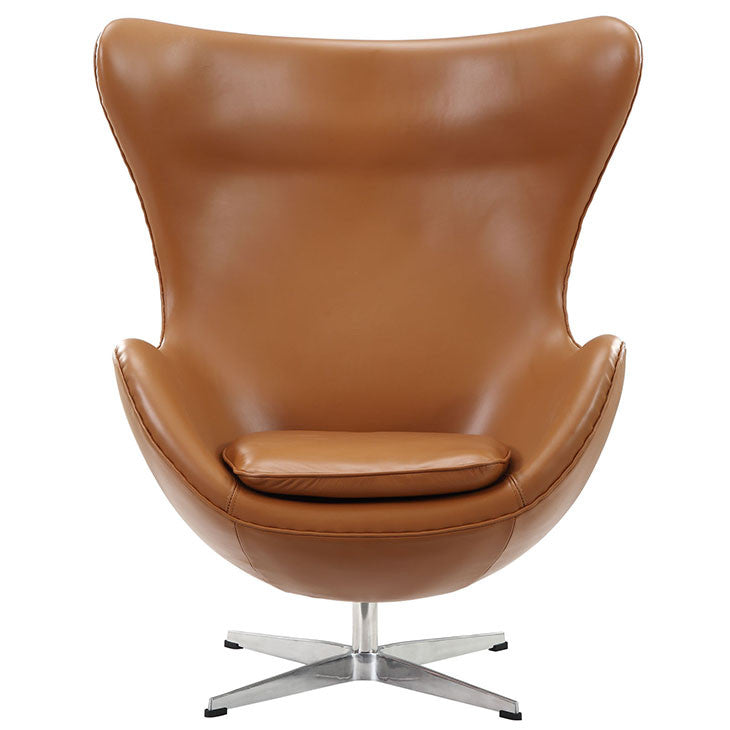 Glove Leather Lounge Chair