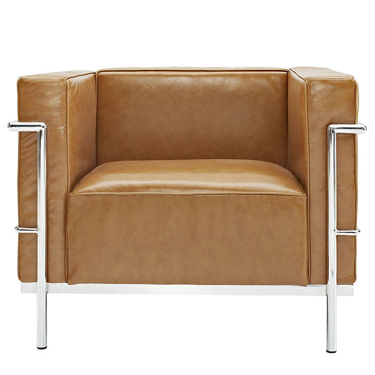 Charles Grande Leather Armchair