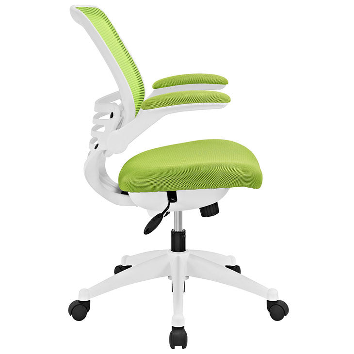 Edge White Base Office Chair