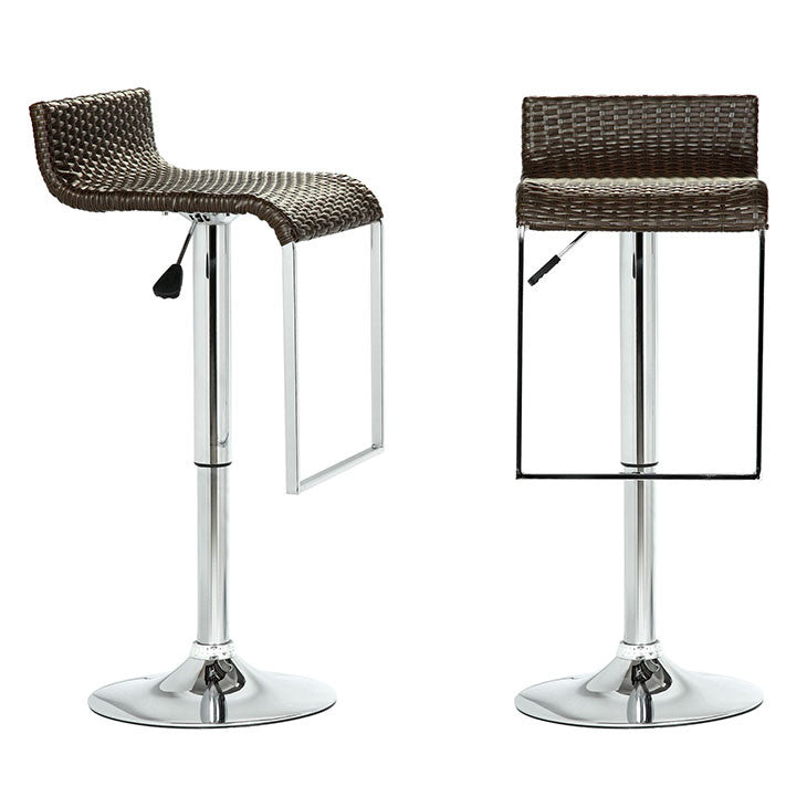 LEM Wicker Bar Stool