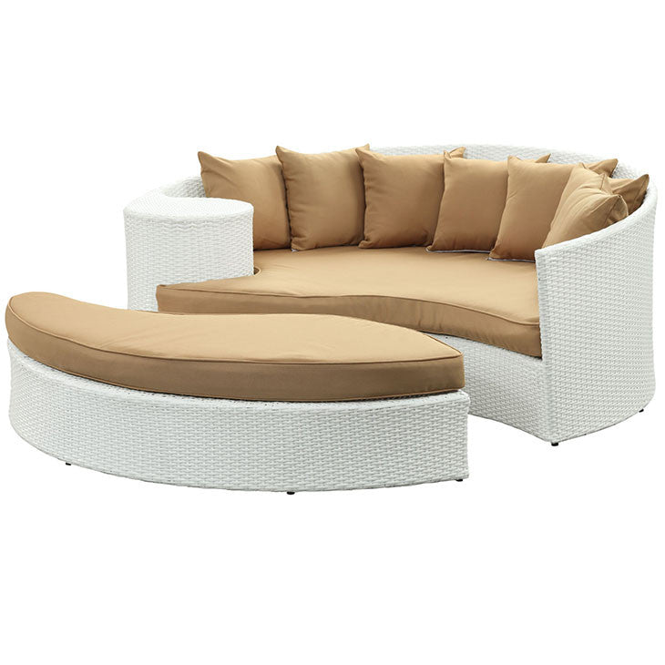 Taiji Outdoor Patio Wicker Daybed