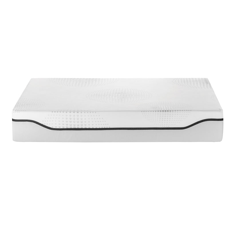 "Whiteline 12"" King Gel Memory Foam Mattress"