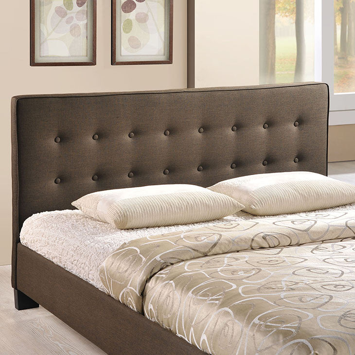 Caitlin Queen Fabric Bed