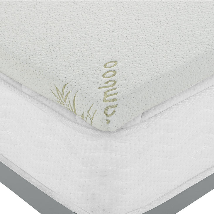 "Relax Full 2"" Gel Memory Foam Mattress Topper"