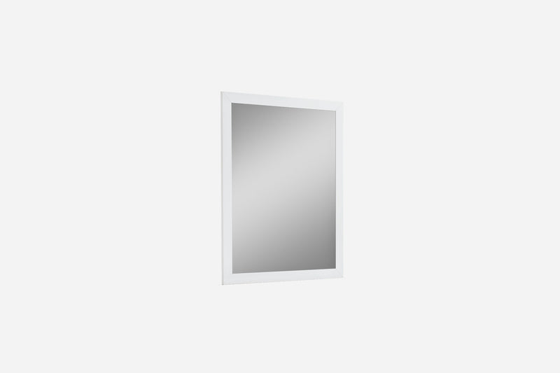 Navi Mirror, high gloss white