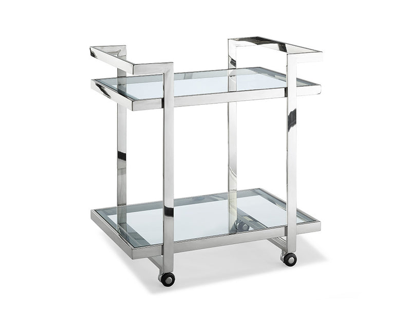 Vegas Side Table/ Bar Cart