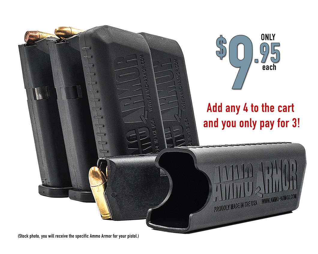 Midnight Black Ammo Armor (.40)