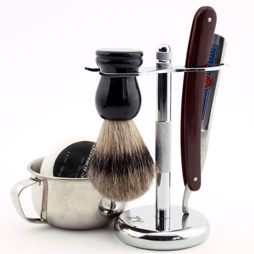 Gold Dollar 200 Shaving Set