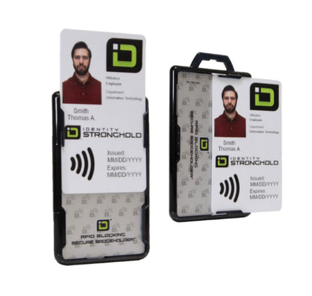 Two ID Card Holders