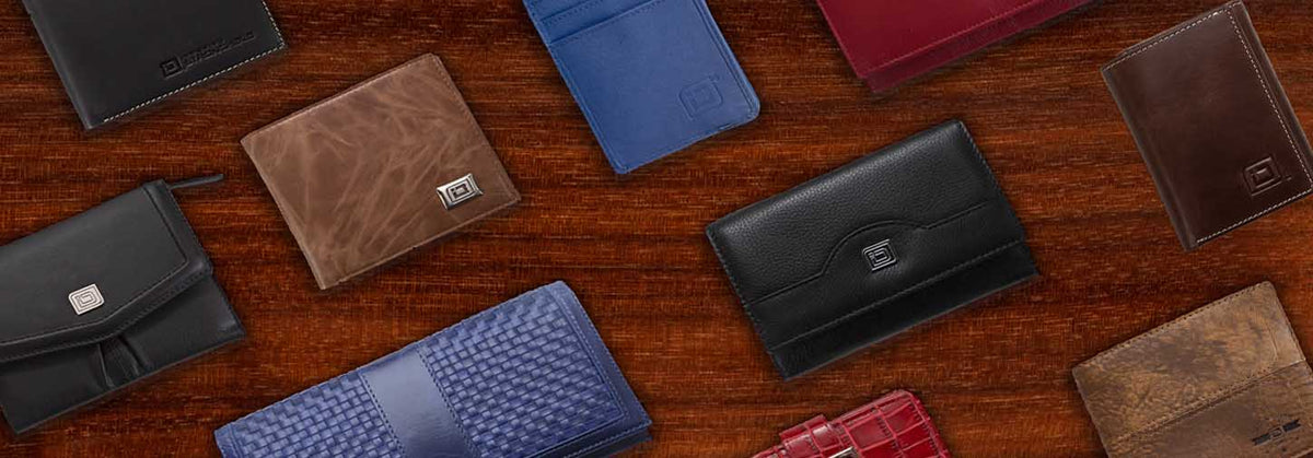 selection of rfid wallets