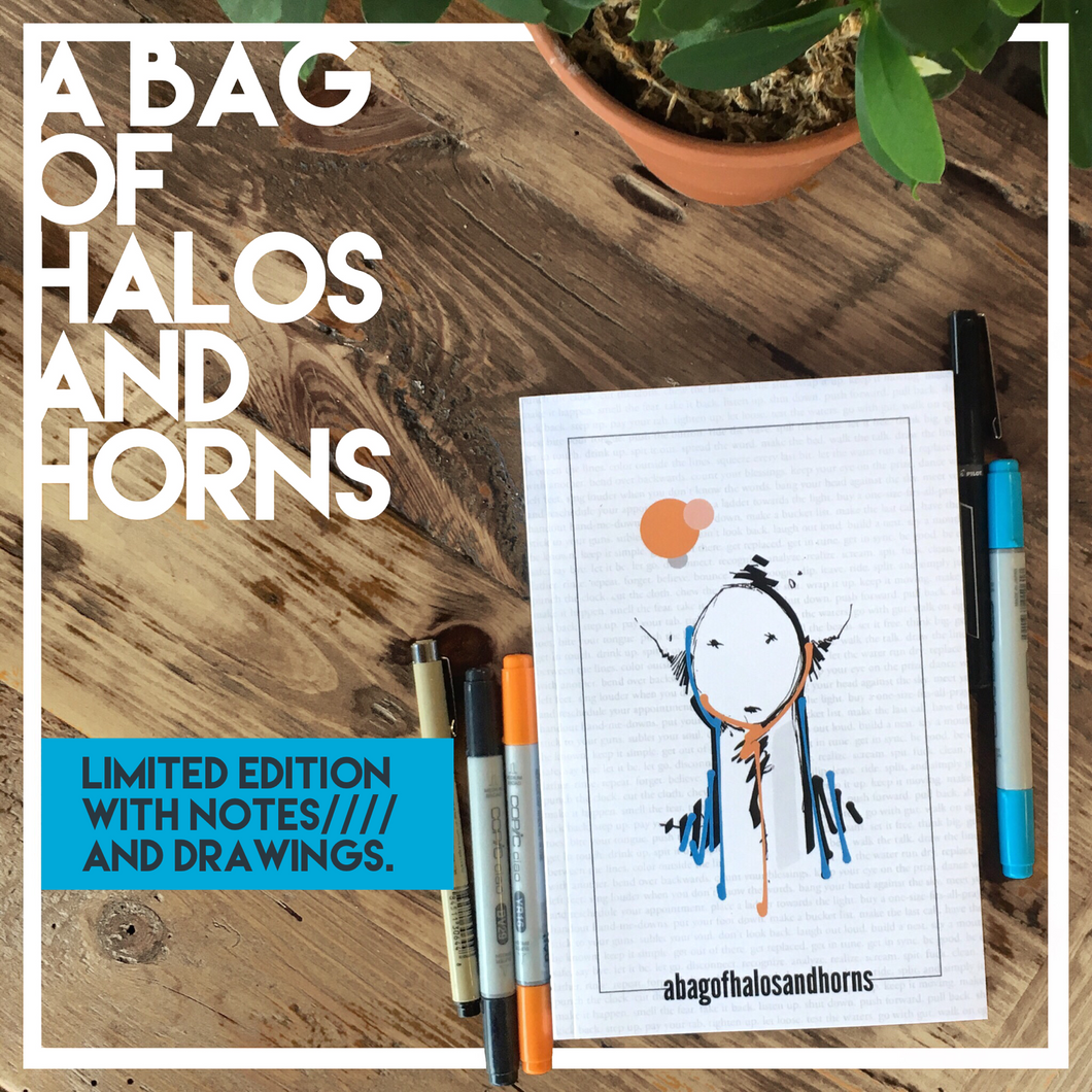 A Bag of Halos and Horns (With Author Notes/Drawings Inside)
