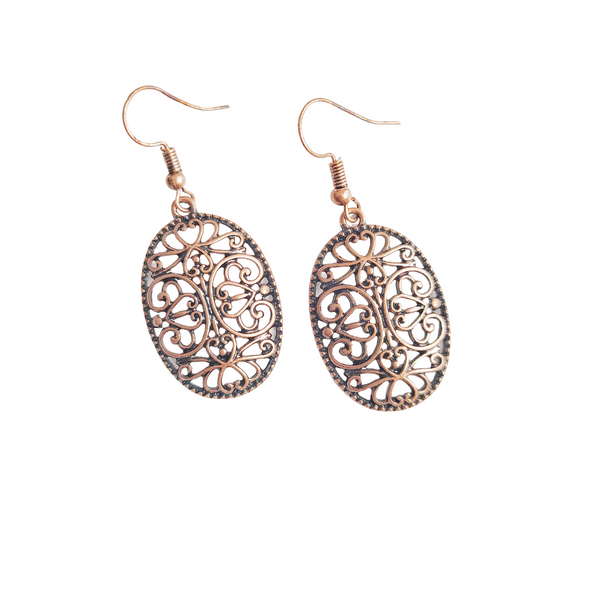 Tove Bronze Antiqued Earrings