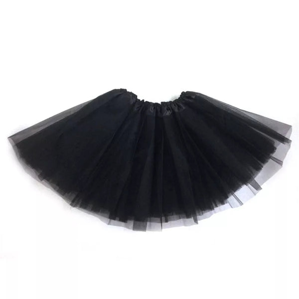Shelly Black Mesh Mini Petticoat - Didi Royale