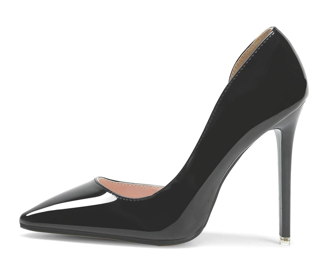 Didi Royale | Shoe | Iriza Black Pointed Toe Pumps