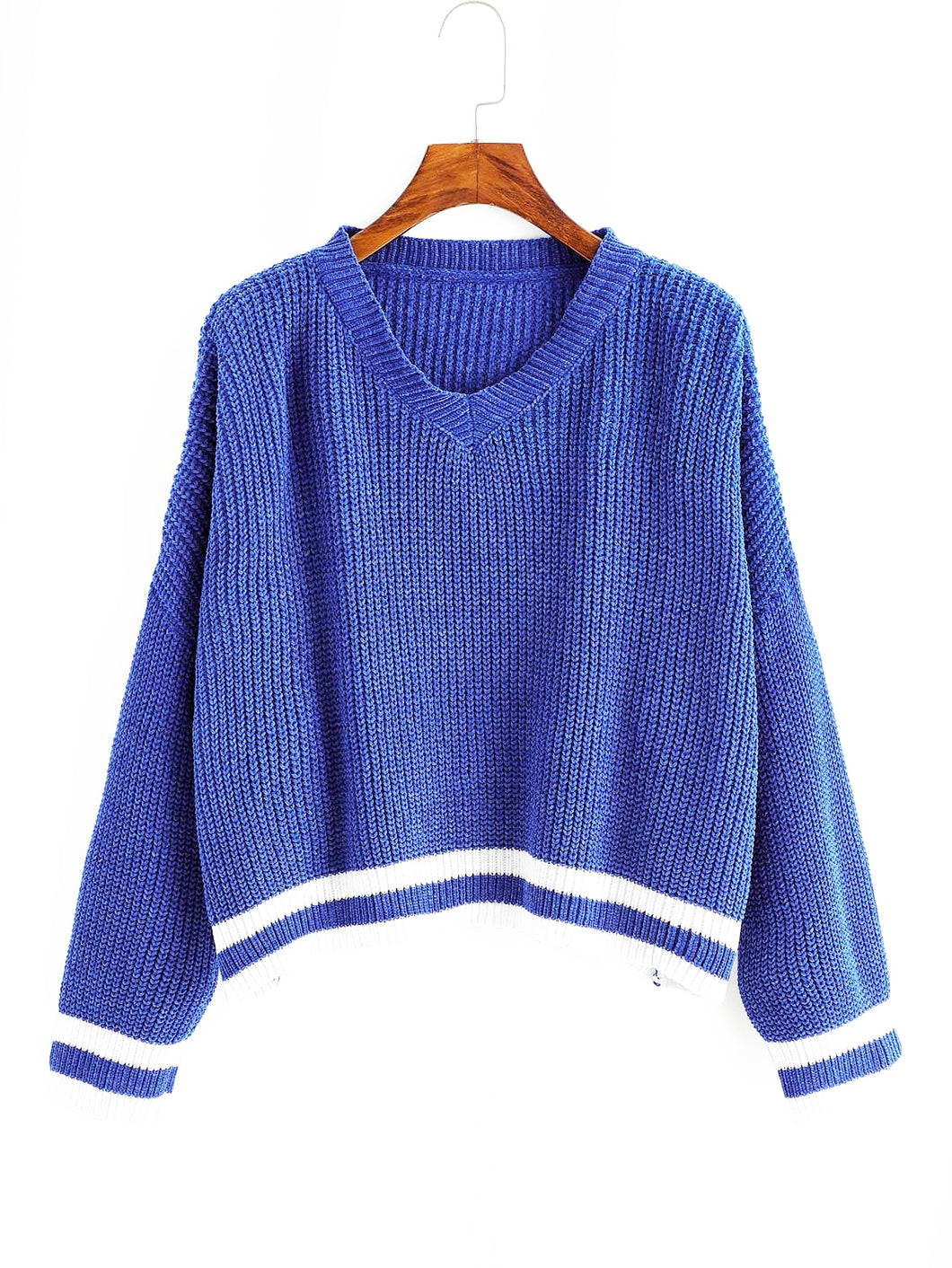 Kinley Cropped Pullover Sweater - Didi Royale