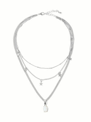Didi Royale  | Accessories | Star Charm Layered Chain Necklace