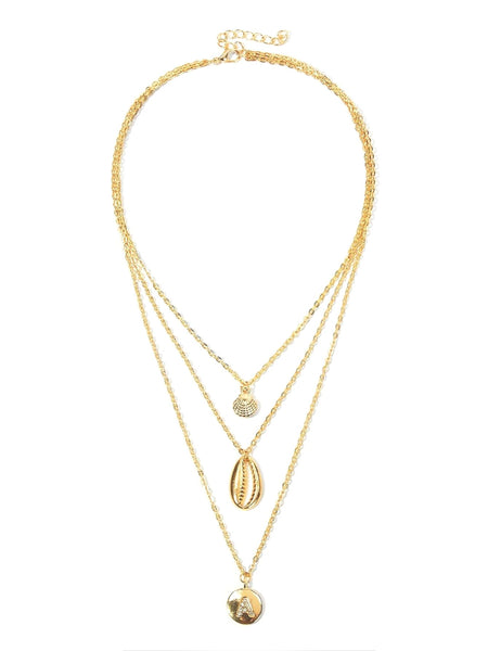 Didi Royale | Online Women's Boutique | Accessories | Mia Seashell Layered Necklace