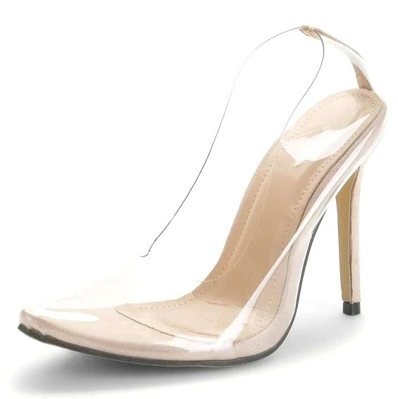 Cassandra Clear Stileto High Heel Pumps - Didi Royale
