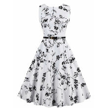 Catalina Floral Print Midi Dress - Didi Royale