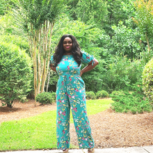 Didi Royale | Online Women's Boutique | Clothing | Elena Floral Print Off Shoulder Jumpsuit
