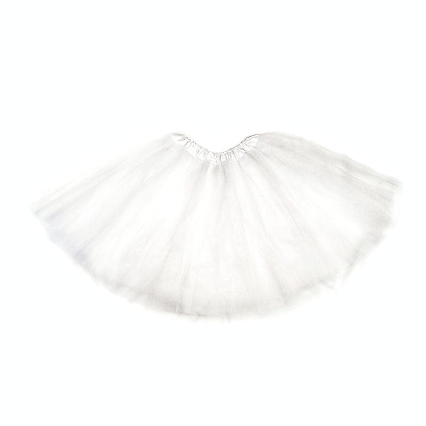 Shelly White Mesh Mini Petticoat - Didi Royale