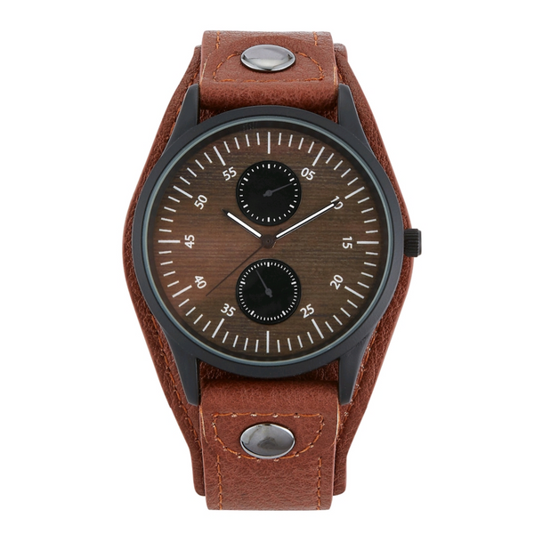 Neichelle Pecan Brown Watch - Didi Royale