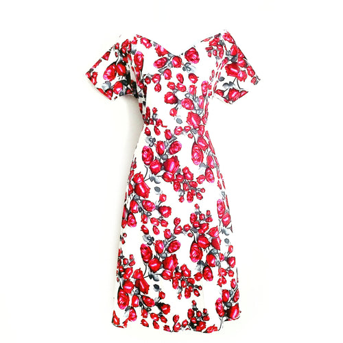 Didi Royale | Online Women's Boutique | Clothing | Camille Floral Print Midi Dress