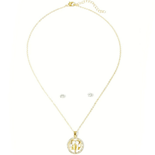 Donna Capricorn Pendant Set - Didi Royale