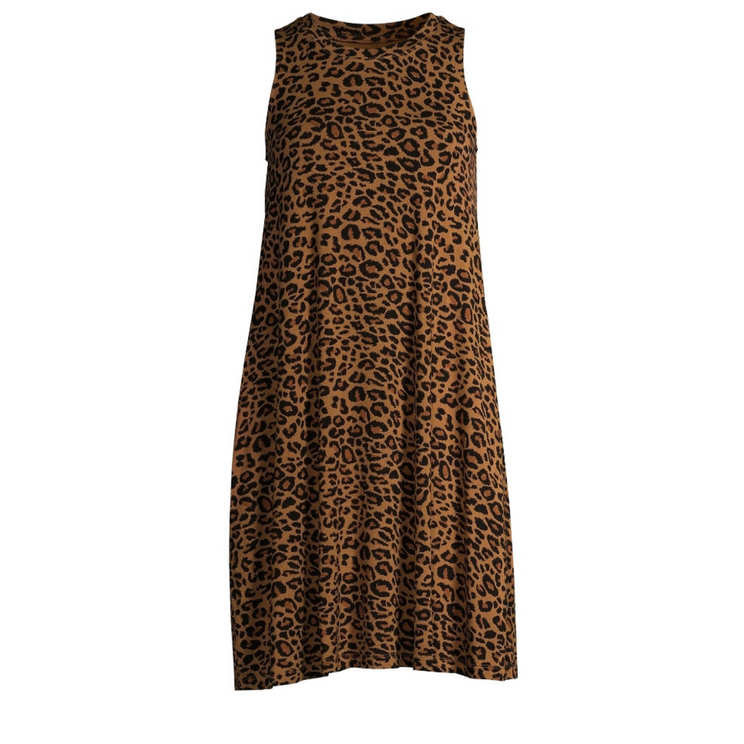 Briar Leopard Print Midi Dress - Didi Royale
