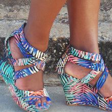 Didi Royale  | Shoes | Brea Jungle Print Wedge