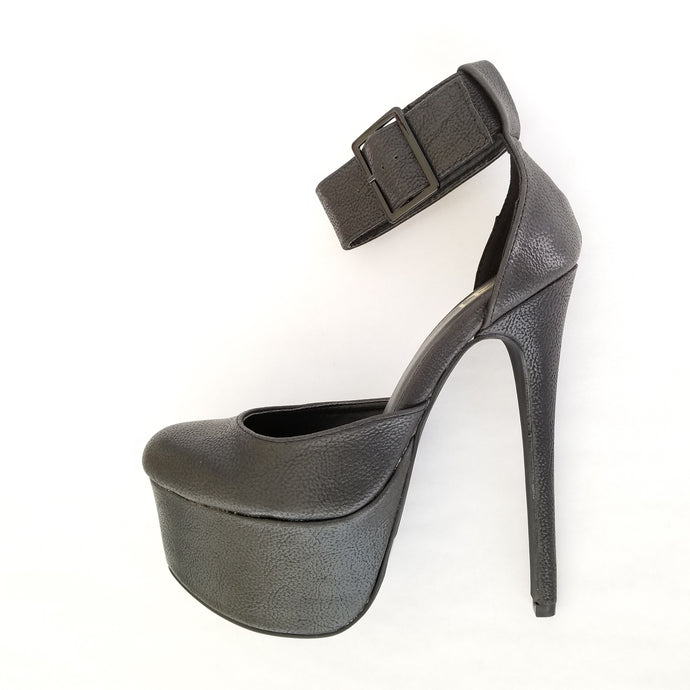 Didi Royale | Online Women's Boutique | Shoes | Padma Core Black High Heel Platform Pump