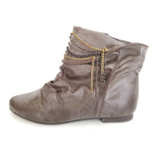 Didi Royale  | Shoes | Leah distressed faux leather boots
