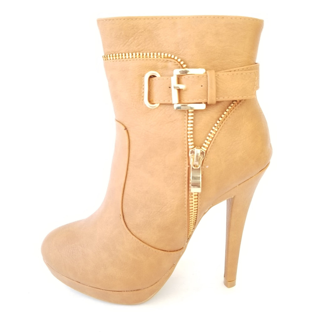 Didi Royale | Online Women's Boutique | Shoes | Edith Mid Calf High Heel Boot