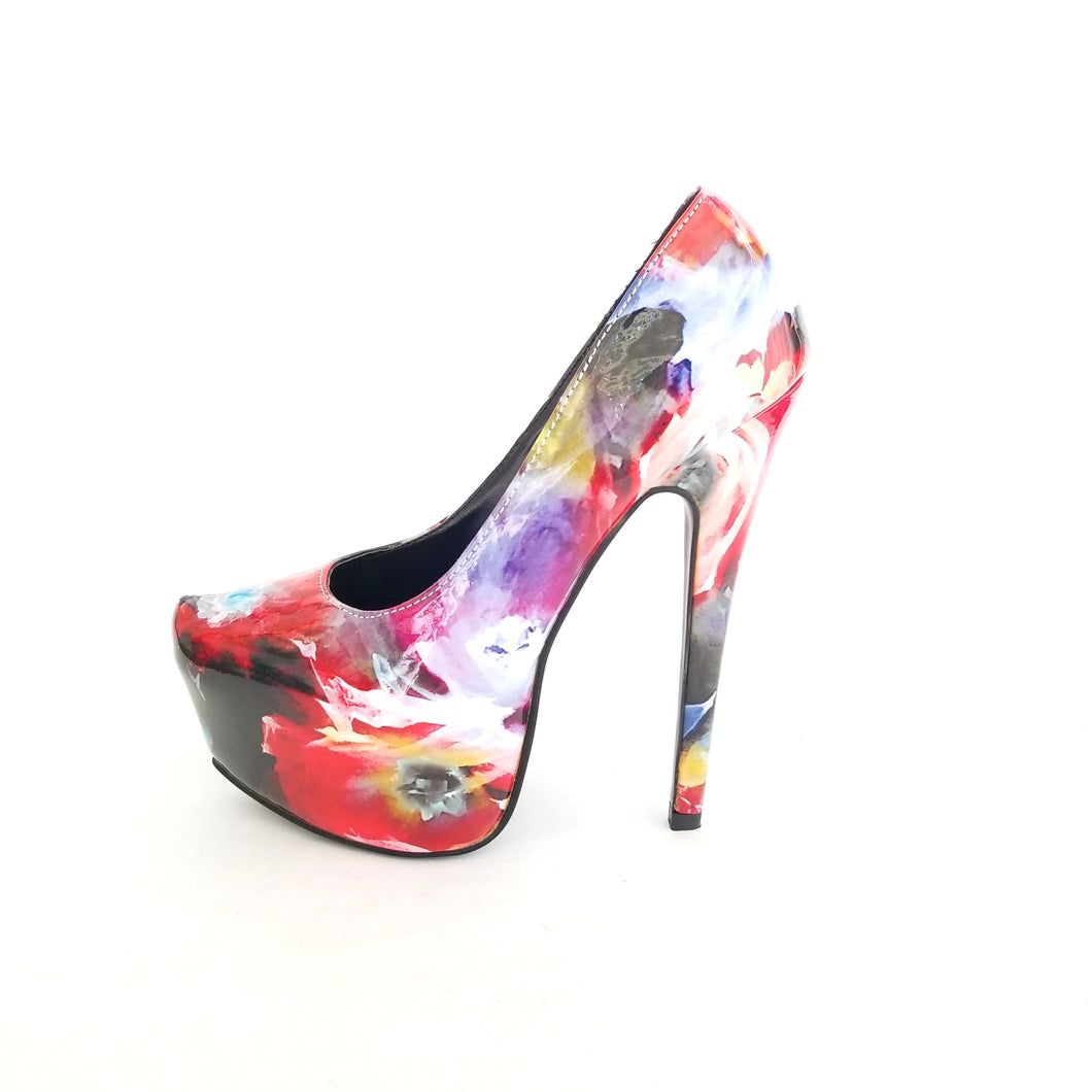Melody Maniac Floral Pumps - Didi Royale