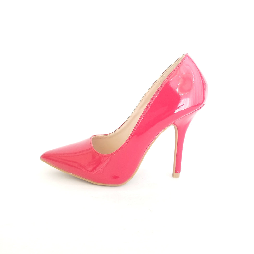 Didi Royale | Online Women's Boutique | Shoes | Lovisa Red Patent Leather Pointed Toe Pumps