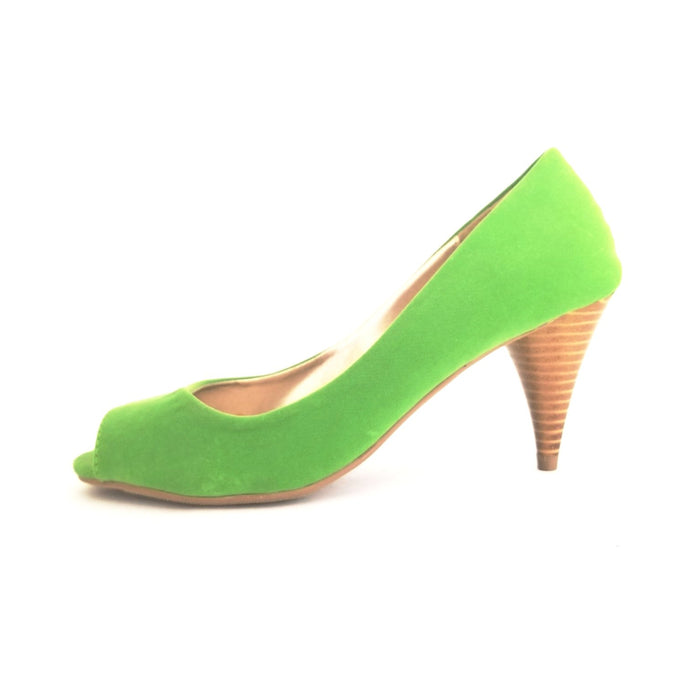 Didi Royale  | Shoes | Connie Indulge Green Velvet Pump