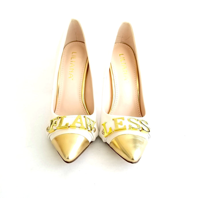 Didi Royale | Online Women's Boutique | Shoes | Olga White Flawless Pumps