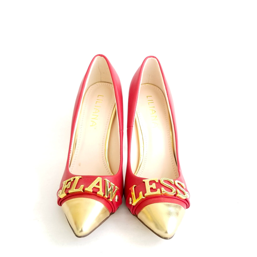 Didi Royale | Online Women's Boutique | Shoes | Olga Red Flawless Pumps