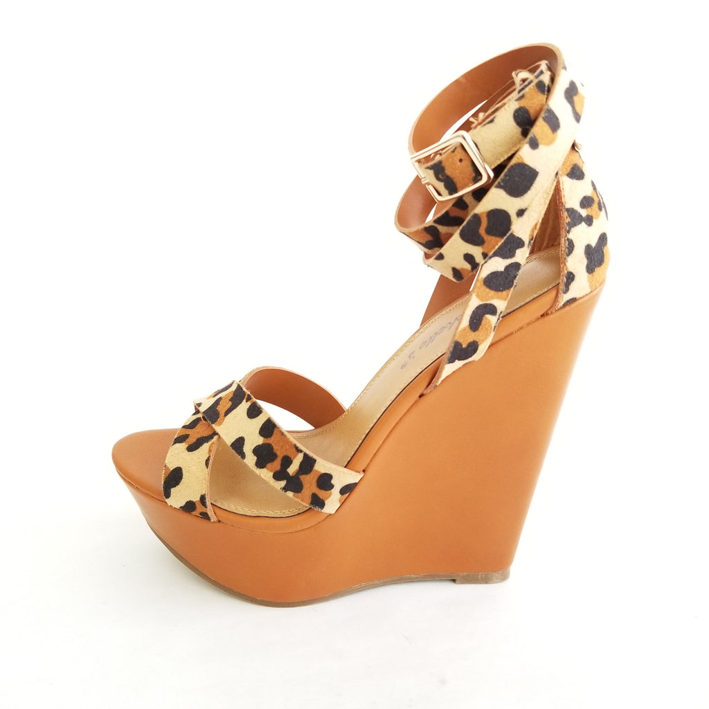 Didi Royale | Shoes | Vivi Leopard Print Wedges