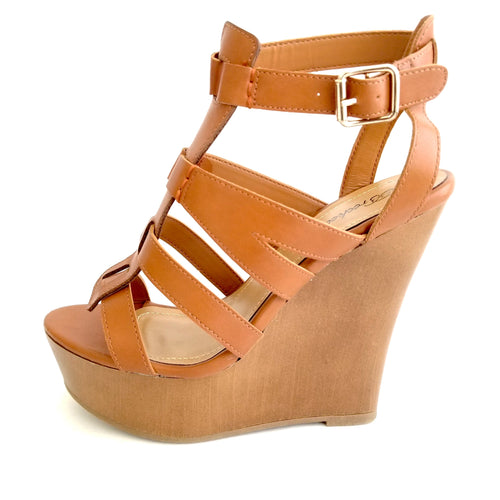 Didi Royale | Online Women's Boutique | Shoes | Carina Tan Wedge Sandals