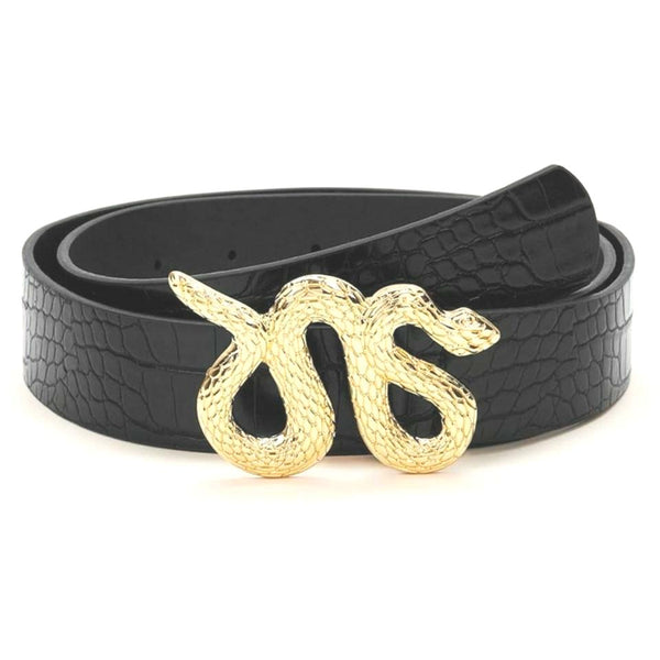 Didi Royale | Online Women's Boutique | Accessories | Erica Snake Buckle Belt