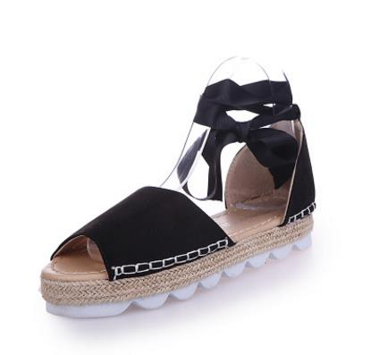 Didi Royale | Online Women's Boutique | Shoes | Dakota Platform Gladiator Sandal With Ribbon