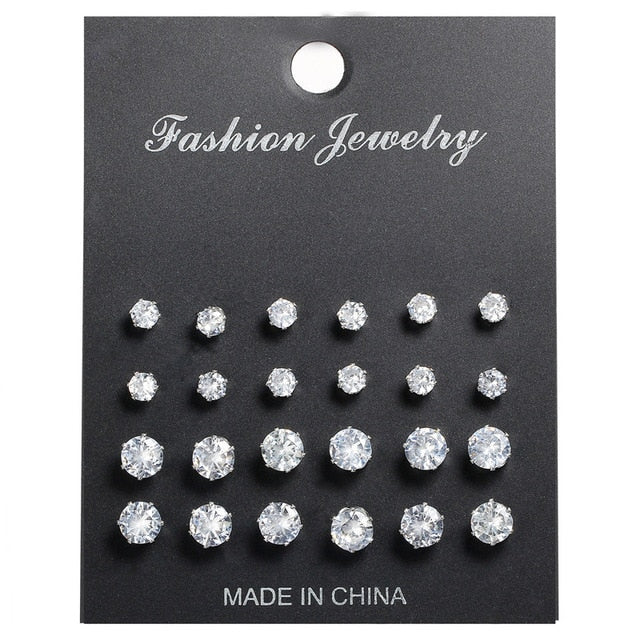 Didi Royale | Online Women's Boutique | Jewelry | Tara Rhinestone Stud Earrings