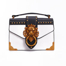 Didi Royale | Online Women's Boutique | Accessories | Skyler Metal Lion Head Handbag